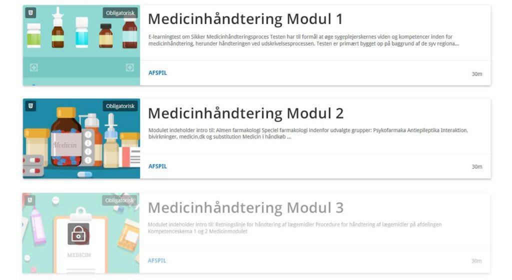 moduler af e-læring